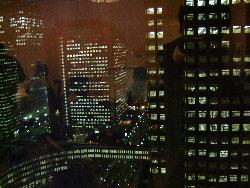 都庁前夜景